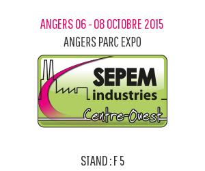 Dejoie - Sepem exhibition in Angers 2015