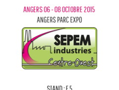 Dejoie - Sepem exhibition in Angers 2015