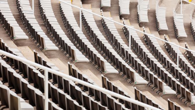 Pièce aluminum pour gradin de stade de sport Dejoie